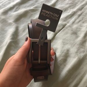 Kenneth Cole Reaction brown NWT belt